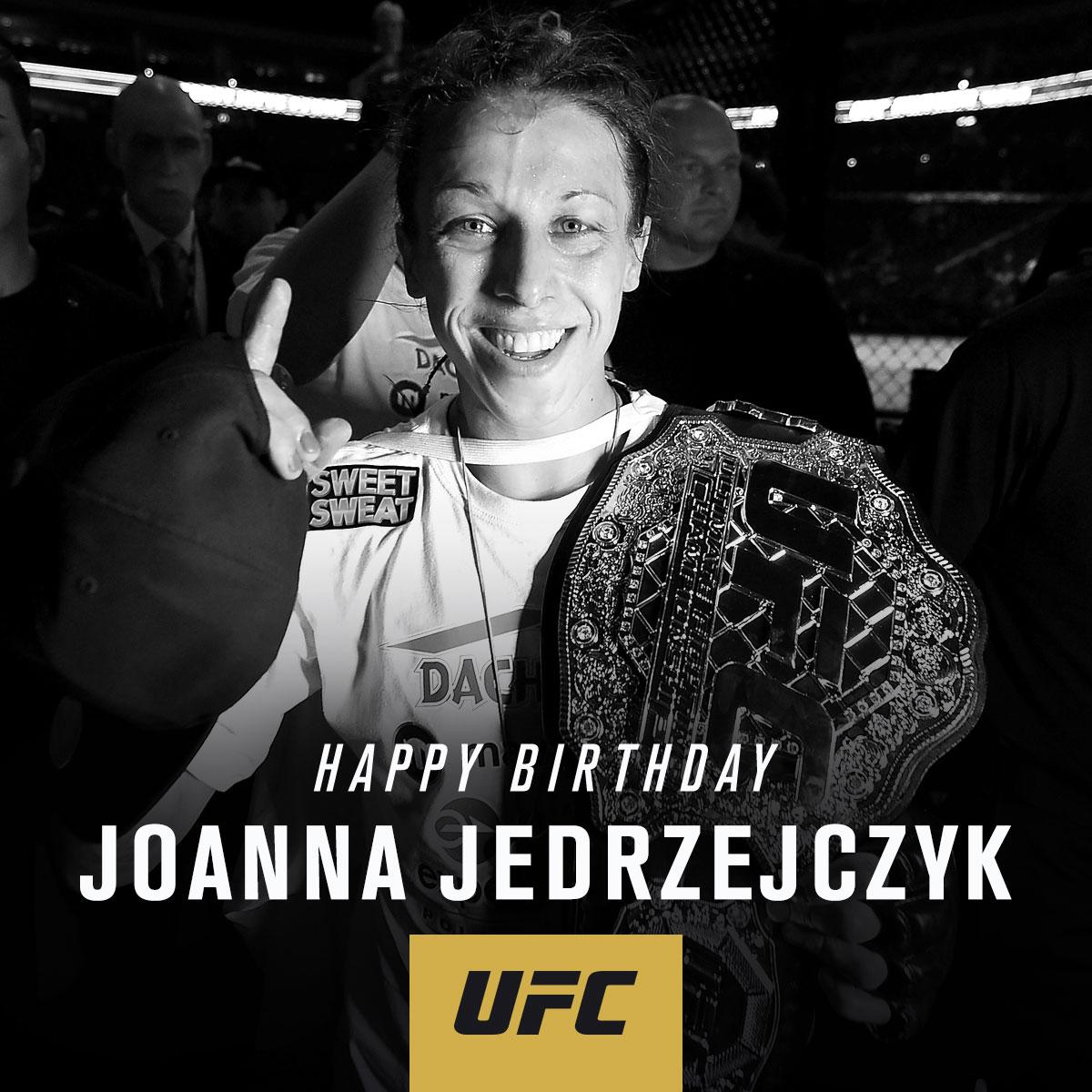 RT to wish the champ @JoannaMMA a Happy Birthday!