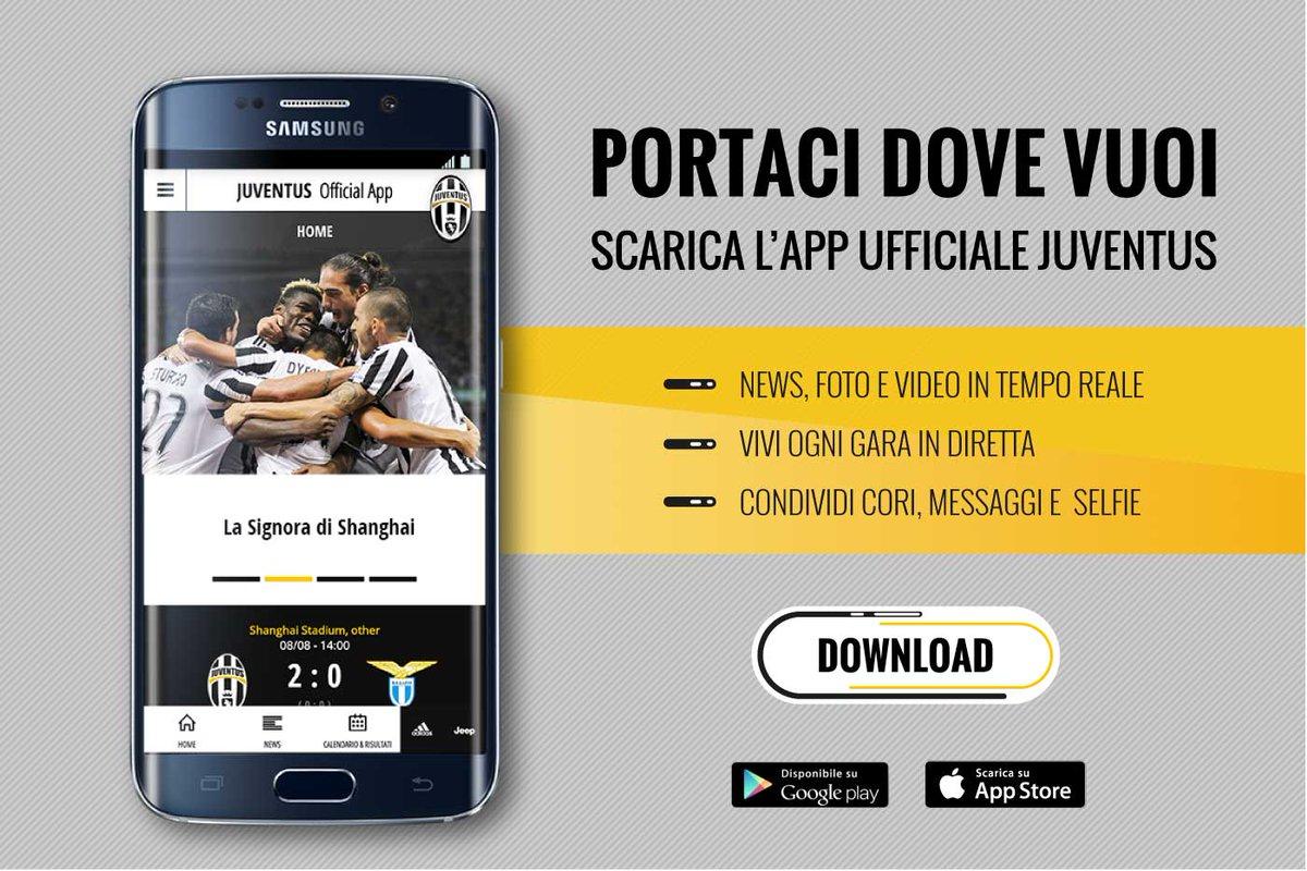 Scarica l'App ufficiale Juventus