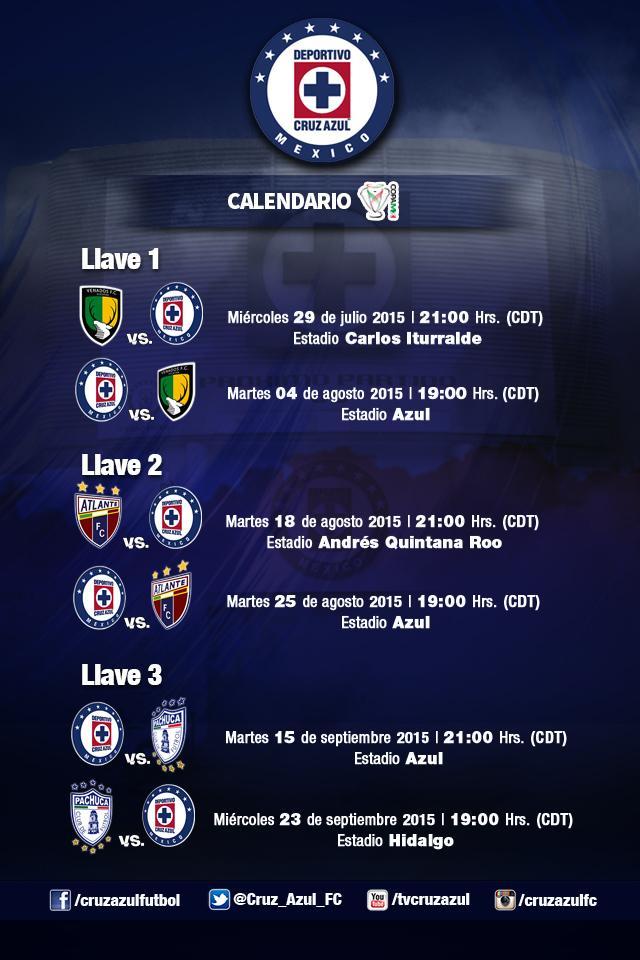 Resultado atlante cruz azul en copa mx 2015 0 2 for Fuera de tu liga