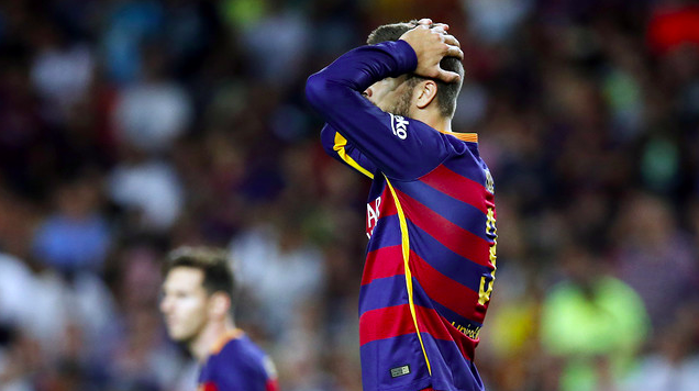 Pique Suspended For Four Games