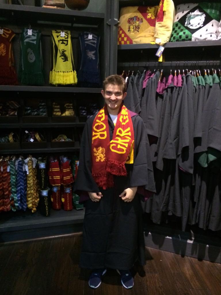 New Hogwarts student