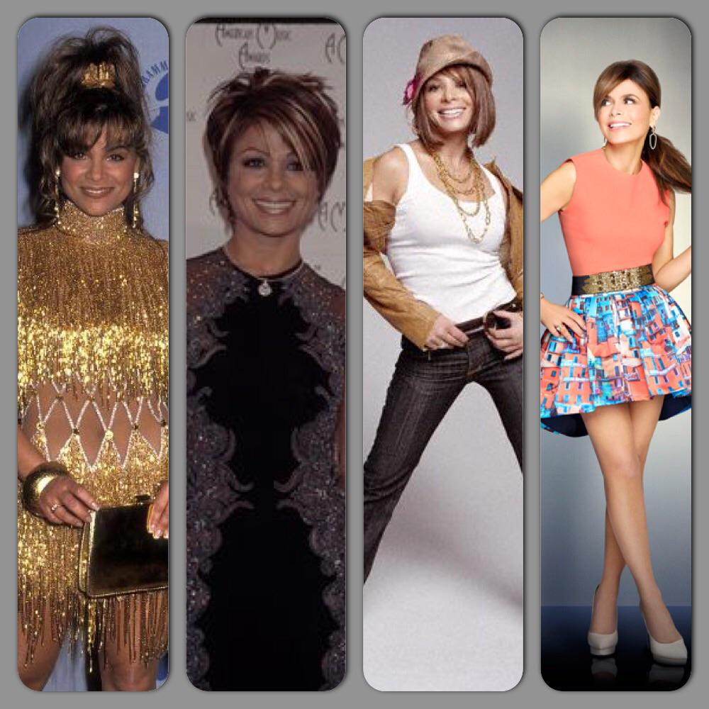 RT @HeartSoul_Power: #TranformationTuesday Ms @PaulaAbdul fandom problems 😐 #Example #OnlyTheHairChanges #Still25 #TheQueenDoesntAge http:/…