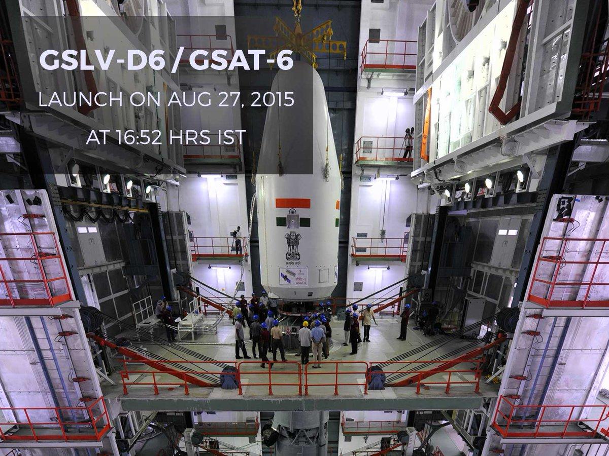 GSLV MkII D6 (GSAT-6) - 27.8.2015 CMw1Y5IVAAIgXSV