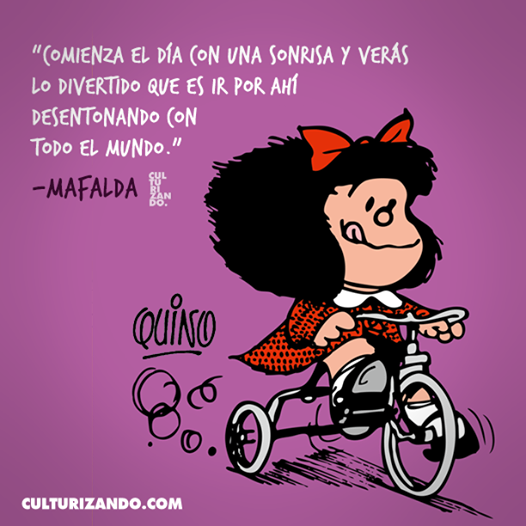 Rodamón No Twitter Buenosdias Bomdia Espanhol Mafalda