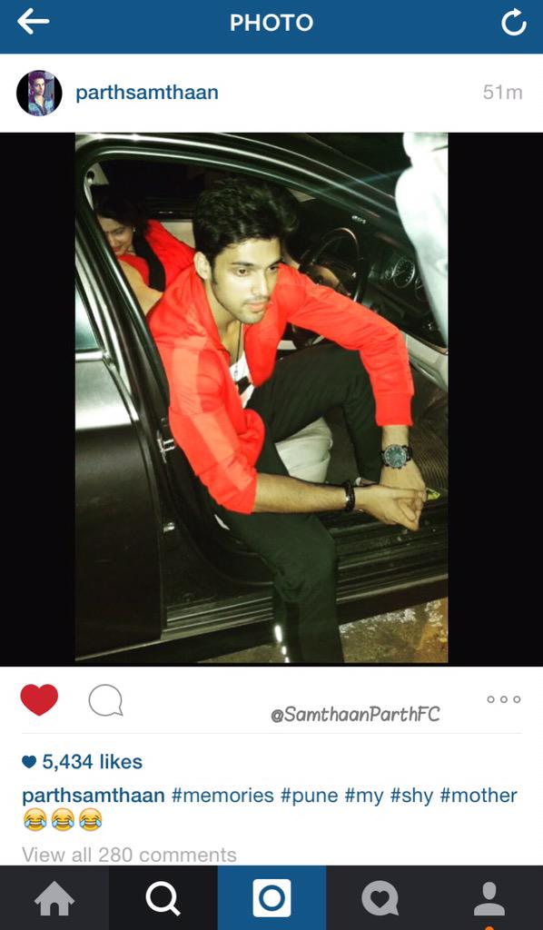 Parth samthaan fc 93 young wild free 4460061 celebrity fan clubs