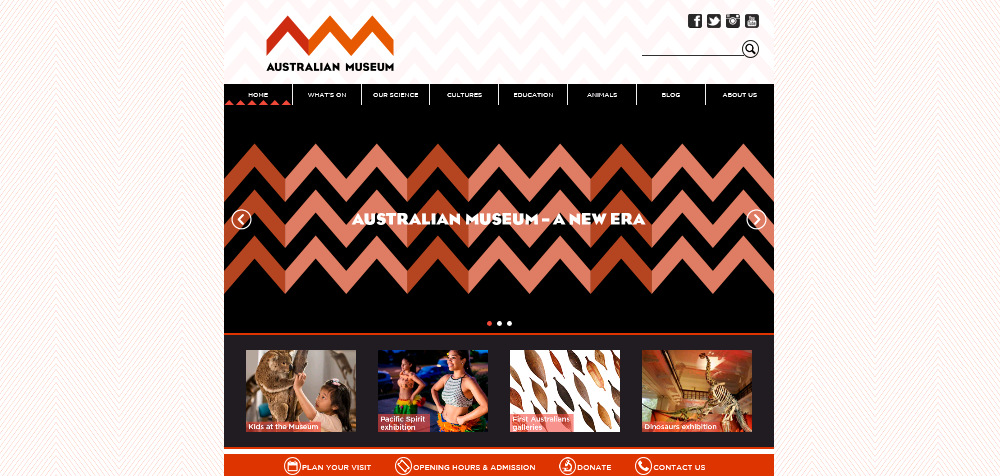 A new logo, a new site, a new era. The Australian Museum is transforming. http://t.co/MGnjtlw8iB http://t.co/KQ2aCAATUO