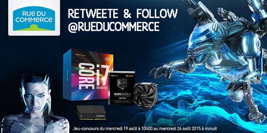 #CoNcOuRs  RT + Follow ce tweet pour tenter de remporter 1 Kit Evo #Skylake !!! >> http://t.co/5QkPCtnmrr << http://t.co/giHI7Wp4Fd
