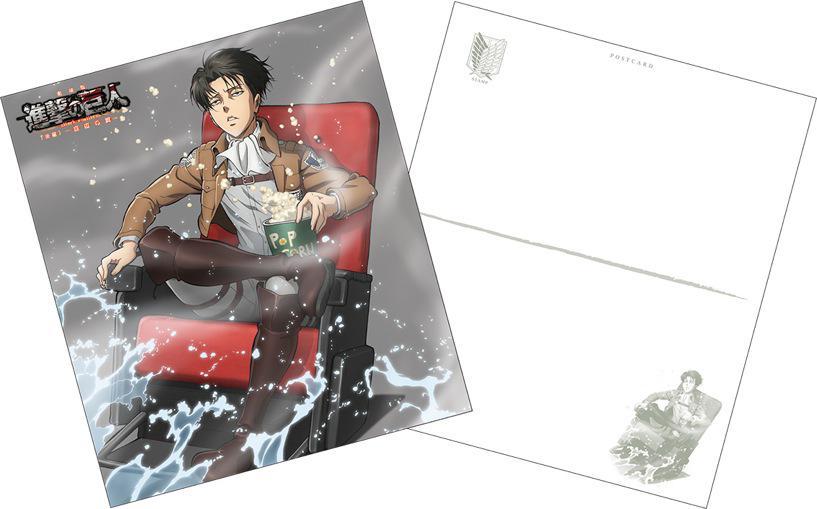 【速報】劇場版「進撃の巨人」、後編の4D版と通常版追加公開館の入場者特典を公開! 貴重なリヴァイが見れる!? #進撃の巨人 #shingeki #akiba [アキバ総研] https://t.co/cBzlTYpB3X http://t.co/T1FADhrqKs