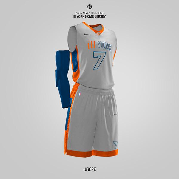 New York Knicks Jersey Design
