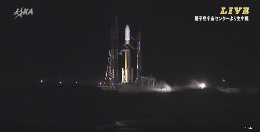 Watch YouTube JAXA https://t.co/QQFOewXHdq or NASA TV for 8:50 pm JST launch of KOUNOTORI5(#HTV5). after 8 min. http://t.co/HgwYV5hhth