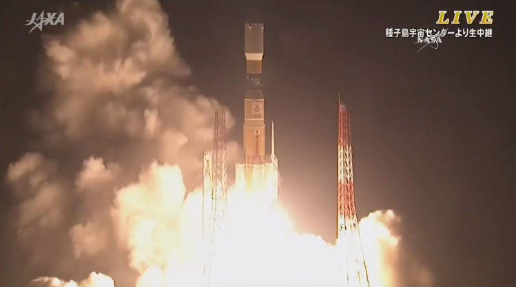 LIFT OFF! @JAXA_en #HTV launches to deliver 4.5 tons of supplies to @Space_Station. Watch nasa.gov/nasatv pic.twitter.com/xOraO1DkXX