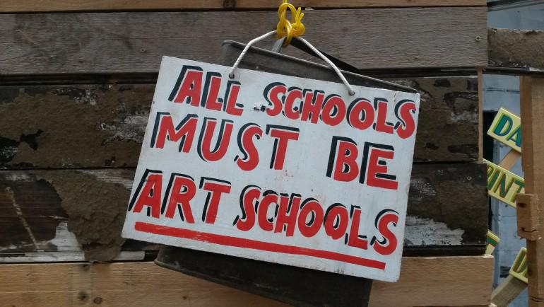 Brilliant - from 16 Oct at @WMGallery: 'Art is Your Human Right' exhibition by @BobandRoberta: http://t.co/7hGFZXlqBQ http://t.co/qCm1gOBAKu