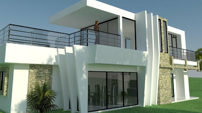 3d warehouse on twitter casa moderna 2 pisos by eistein for Casa moderna sketchup download