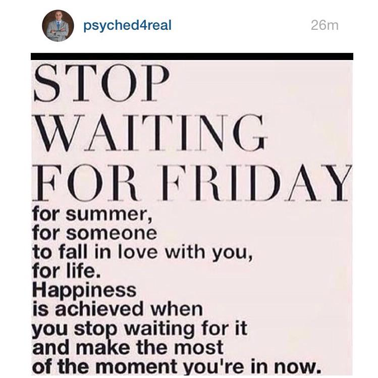 WOW This is powerful! Cherish the now. #stopwaiting #actnow #happiness #bepresent #lovewednesday #evenmondays #Repost http://t.co/FZ5bdHyV8K