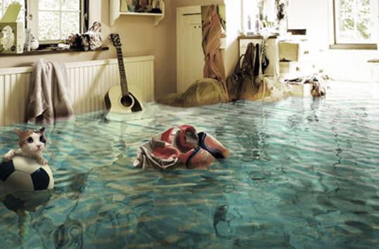 затопило водой квартиру