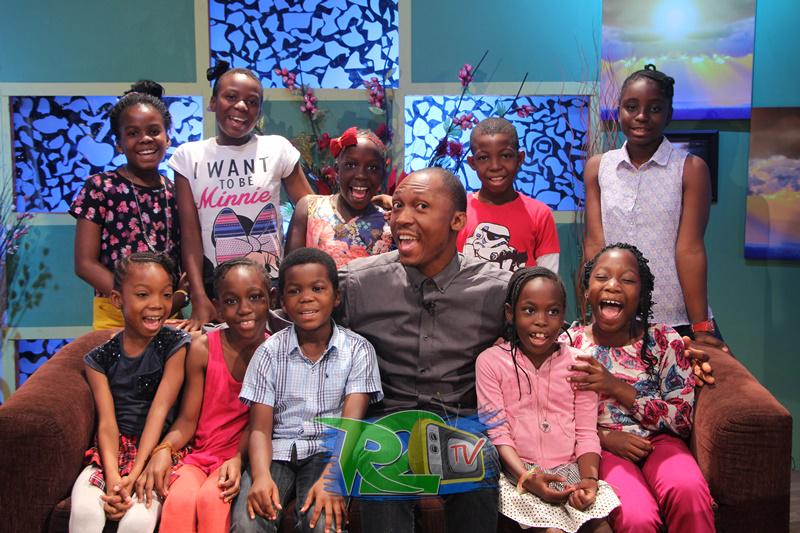b5a67f4e38a24 Earlier today on the  R2TVBreakfastShow with  FrankDonga  and Children from ACEHALL  SCHOOL