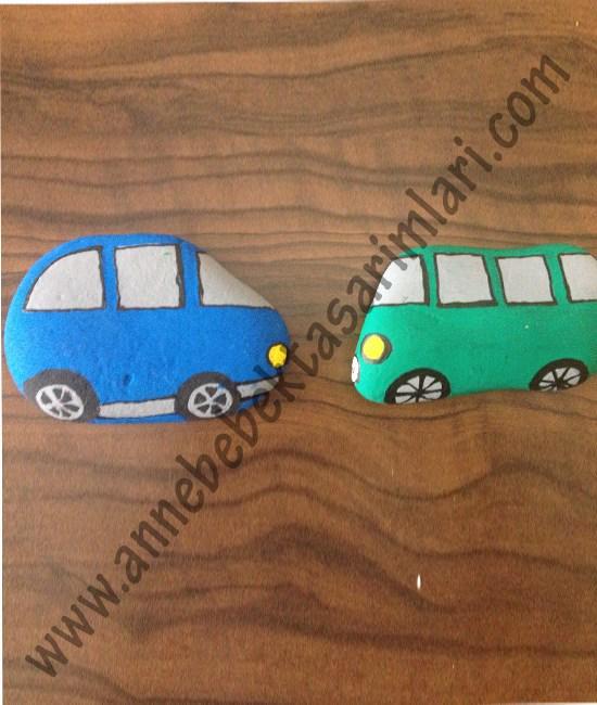 Annebebektasarımları On Twitter Taş Boyama Sanatı Arabalar Ve