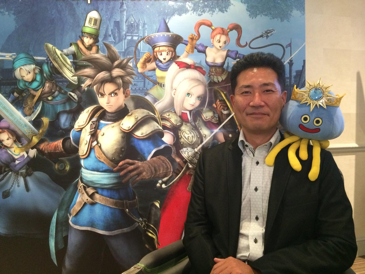 Kenichi Ogasawara Dragon Quest on Twitter This is Kenichi Ogasawarasan from Omega