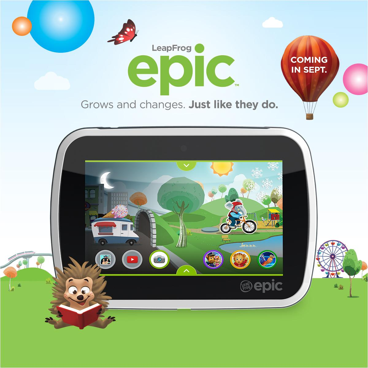Introducing LeapFrog Epic! Sign up now for a chance to win a $500 prizepack! http://t.co/nGsSDHRIE4 http://t.co/DzJ5rCtWJQ