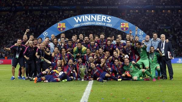 Barcelona To Be Honoured By UEFA
