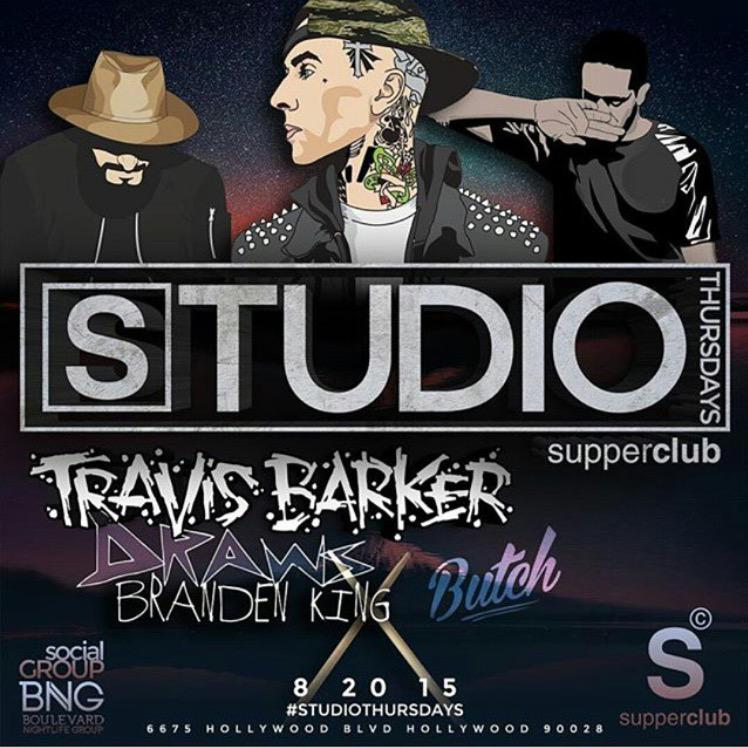 Don't wait! Get your tickets today for @travisbarker at #StudioThursdays!   Tix: http://t.co/kbF2onLB8E http://t.co/5lNIEv2Ozr