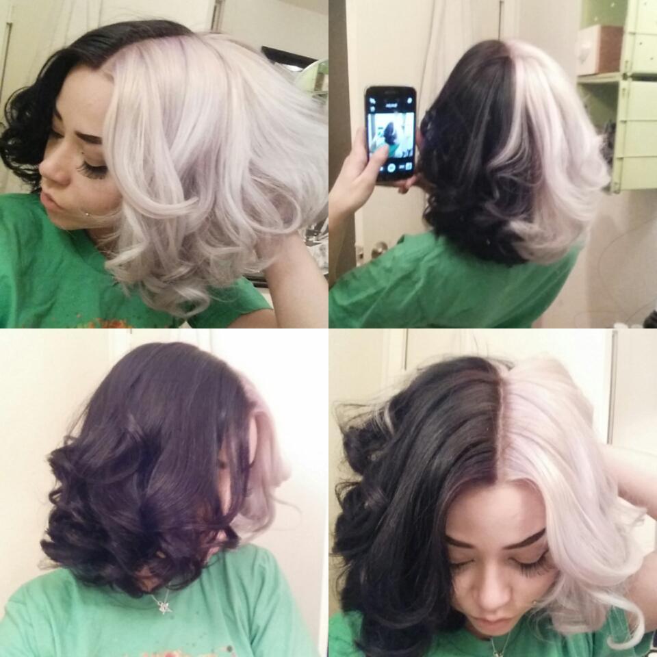 Sydney Nicole On Twitter Hair Color Half And Half Hair Split Dye