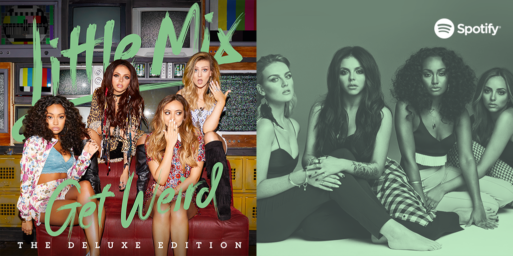 .@LittleMix are going to 'Get Weird' soon on #Periscope with a mini-show you do not want to miss