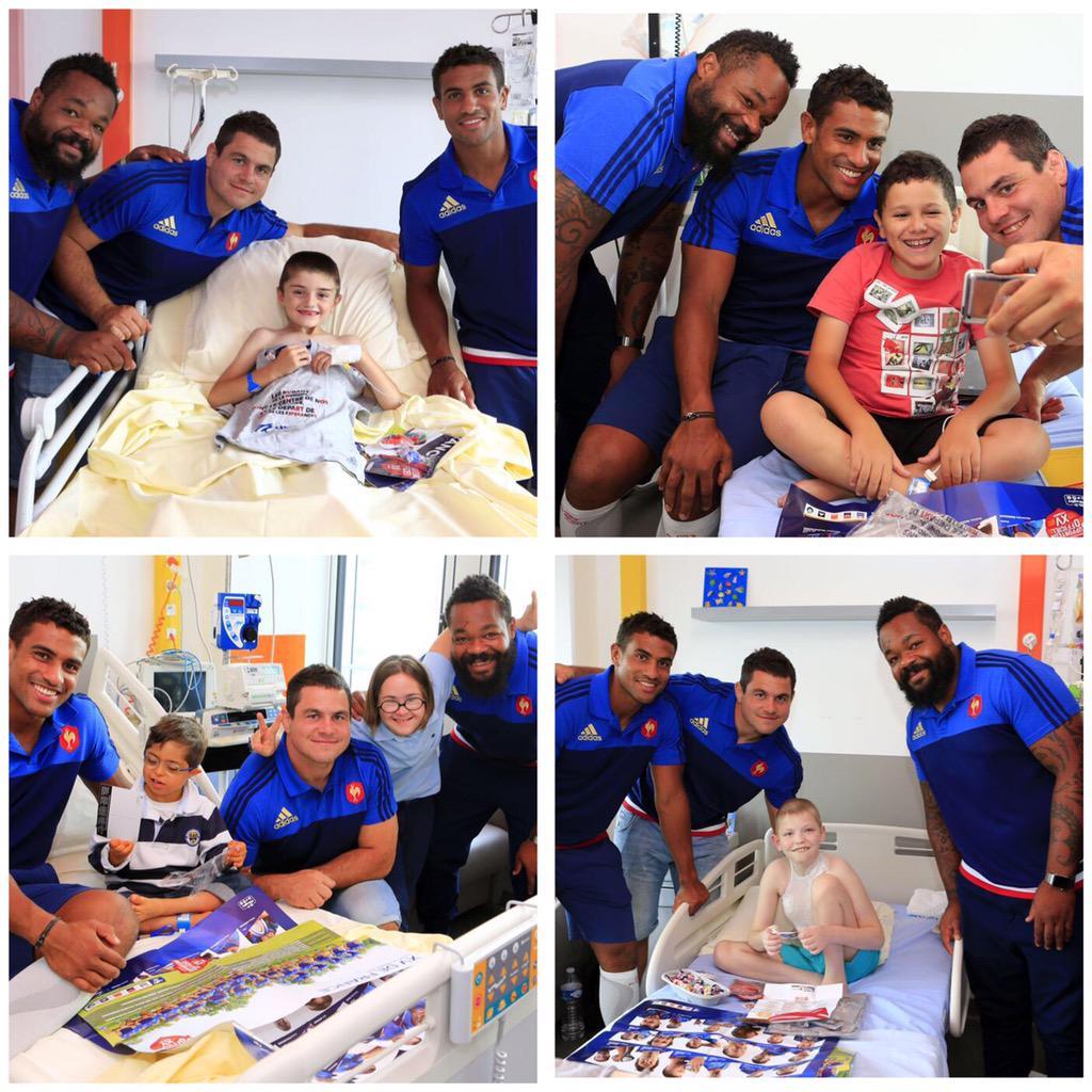 Superbe après-midi avec les enfants à l'hôpital Necker ! #sourires #enfants