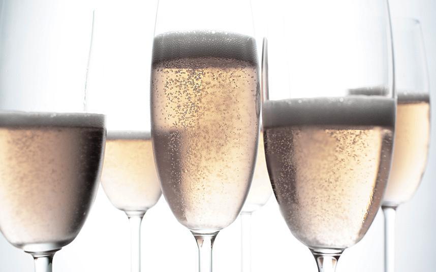 Vino Prosecco (italiano) meglio dello Champagne in Gran Bretagna