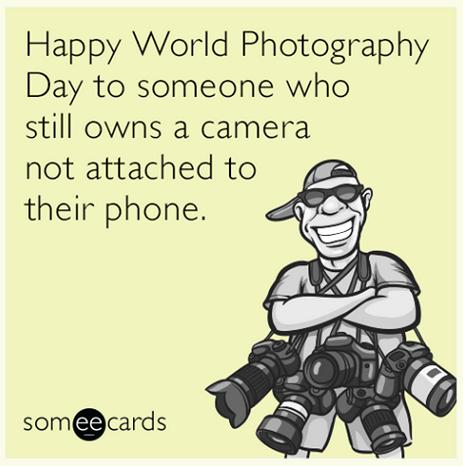 Happy #WorldPhotographyDay! http://t.co/rJlJ9gWjF6