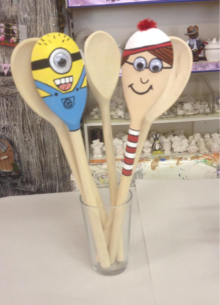 craft daft ayr craft daft on quot where s wally wooden spoon 1472