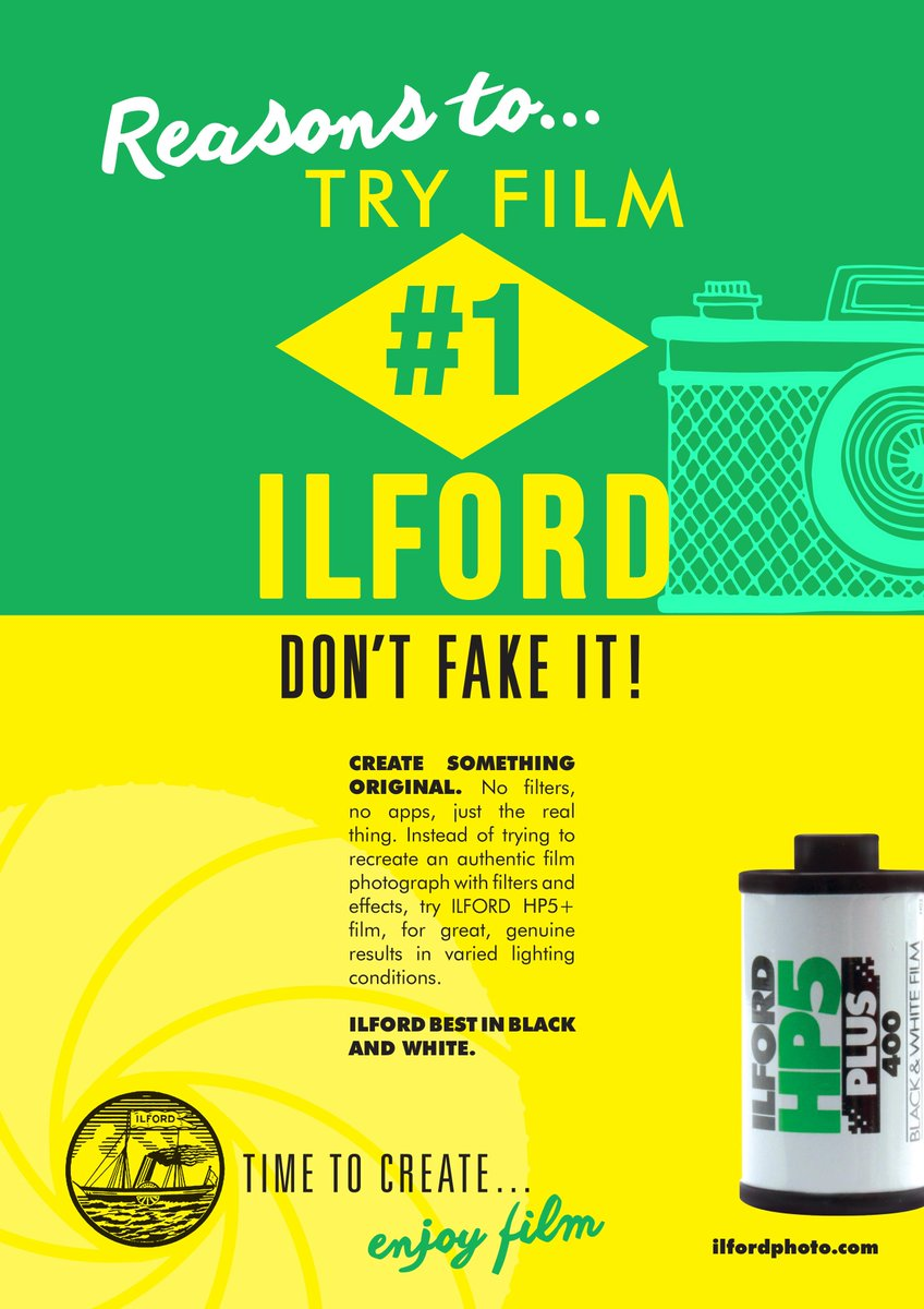 Reasons to try film #1 Don't fake it, create something original Get your copy here http://t.co/Iyo4Gah789 http://t.co/LDfO5EL0QX