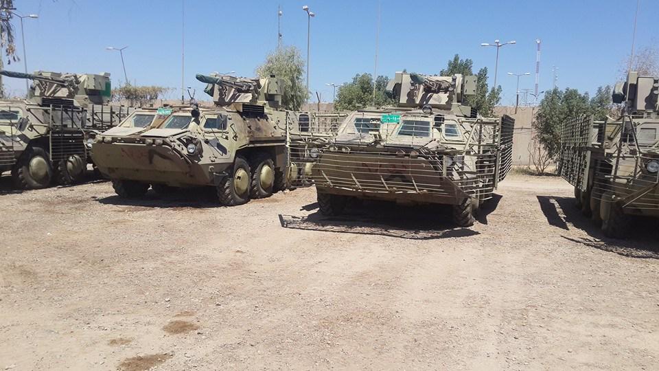 اخر تطورات صفقة مدرعات BTR-4 الاوكرانيه للعراق CN-KvXFUwAEB1Ow