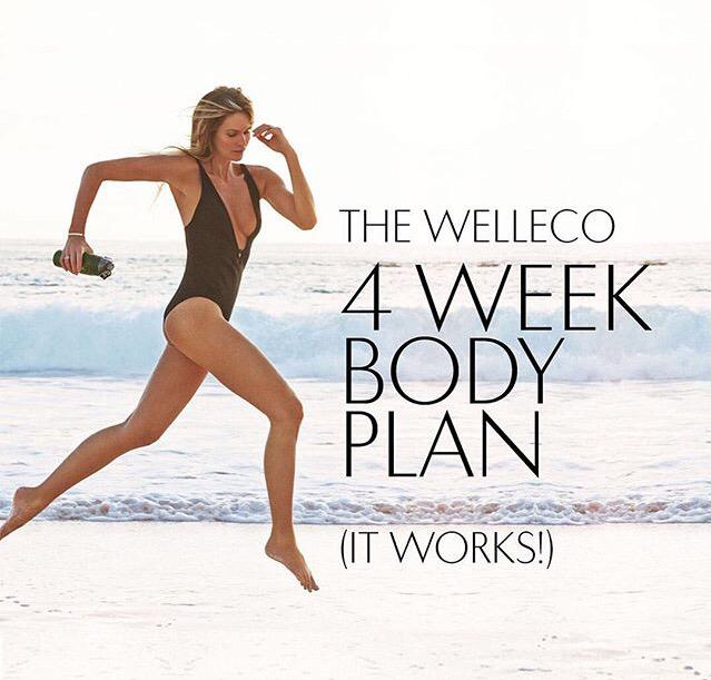 THE WELLECO 4 WEEK BODY PLAN   if you're back to school or getting ready for summer... https://t.co/Jky7Xp8qkV http://t.co/HUvbff5Oth