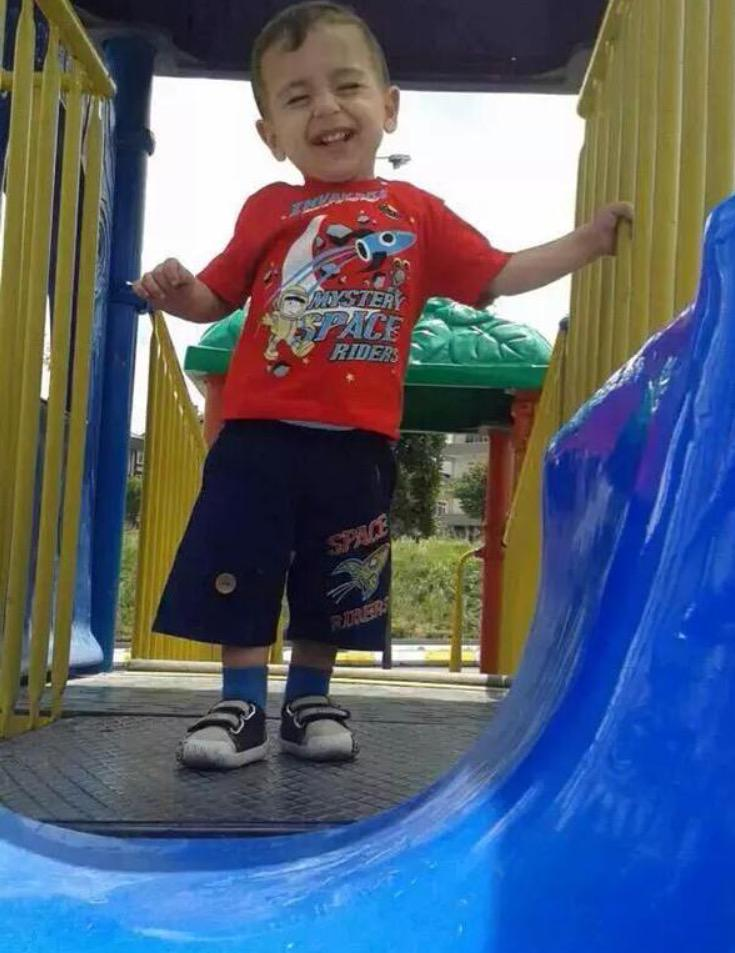 Such a beautiful innocent soul.        Rest In Peace little Angel. #AylanKurdi http://t.co/Y9Msrdw4nK