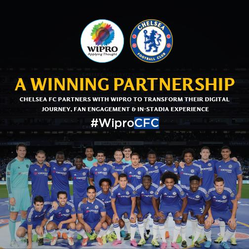 Wipro Ltd Selected by @ChelseaFC as Official #Digital and IT Partner. #WiproCFC   http://t.co/ajgOWozbyp http://t.co/QyRZZpk1jq