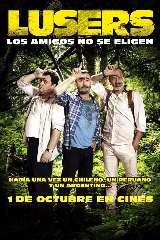 Lusers La Película On Twitter Lusers Los Amigos No Se Eligen Gran Estreno 1 De Octubre Sólo En Cines Http T Co 6ed8hrjjln