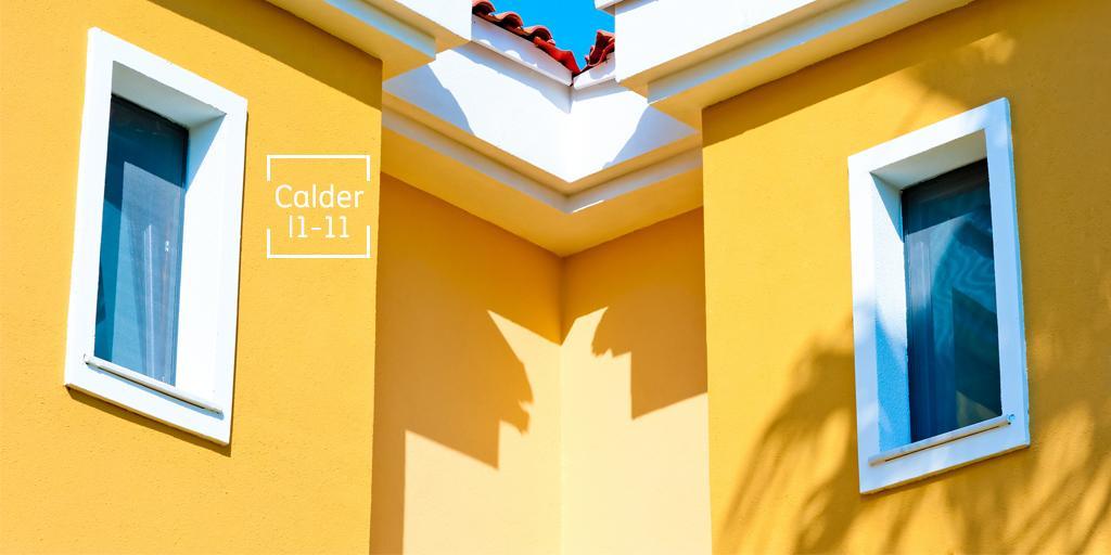 Comex on twitter los colores c lidos provocan sensaci n - Pinturas para fachadas exteriores fotos ...