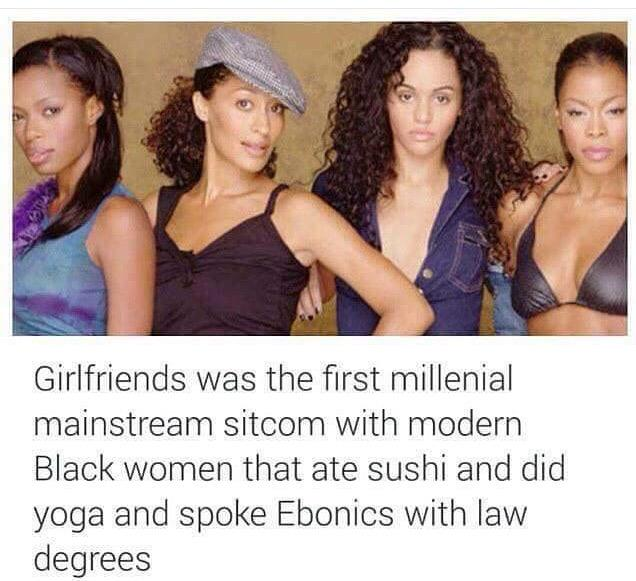 I'd trade in these black American reality shows for shows like Girlfriends any day. http://t.co/TgCVHGD9fC