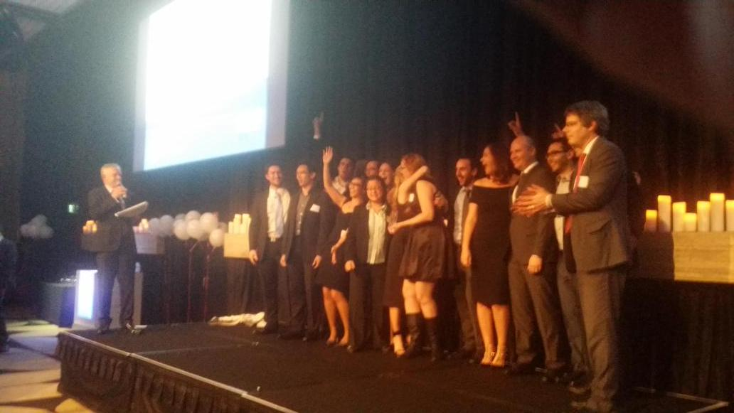 Congratulations @Atlassian 1st place winner for over 100 employees in 2015 #brwbestplaces #BestPlacesToWork awards. http://t.co/02DqpFTlbj