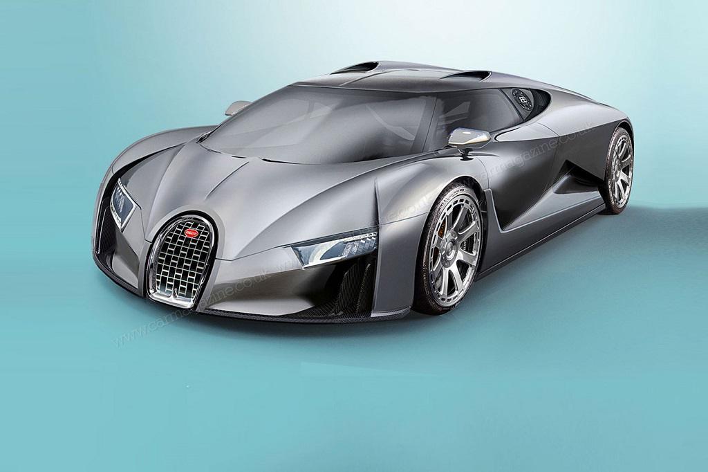 Bugatti Chiron дебютирует весной 2016 года