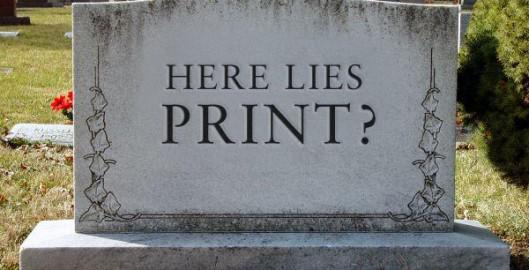 What's Hot: DING DONG, IS PRINT DEAD? http://t.co/UNc8wLomCi http://t.co/M9OBuXKoQl