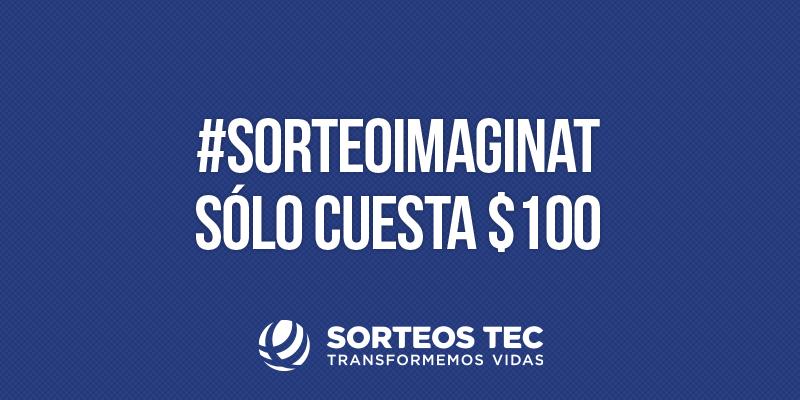 El #SorteoImaginat es el único sorteo donde tú eliges tu premio. Busca tus boletos en http://t.co/7Vrfh5Hzj3 http://t.co/ifhIceKfCd