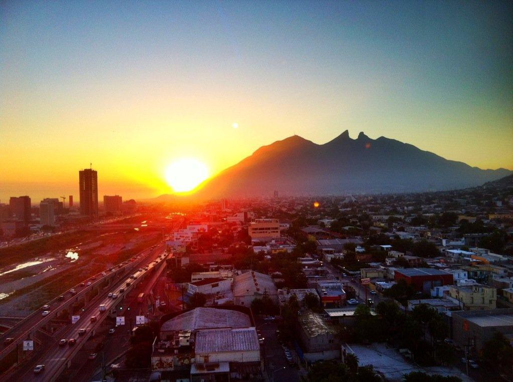 #PrimeroNoticias Pues por Monterrey amaneció así: ¡Buen día @CarlosLoret !