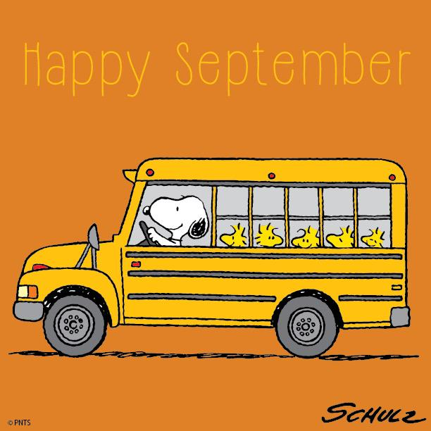 "PEANUTS on Twitter: ""Happy September! 🍂 http://t.co ..."
