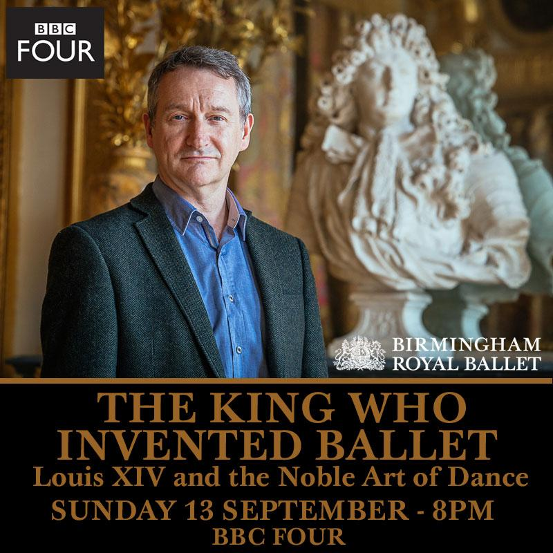 """The King Who Invented Ballet: Louis XIV and the Noble Art of Dance"" airs on #BBCfour Sunday 13 September at 8pm. http://t.co/T6faHjUGY3"