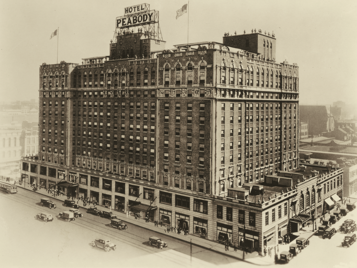 Today marks the 146th Anniversary of The Peabody. What better way to celebrate than on #901Day! http://t.co/KLMNvk3wQH