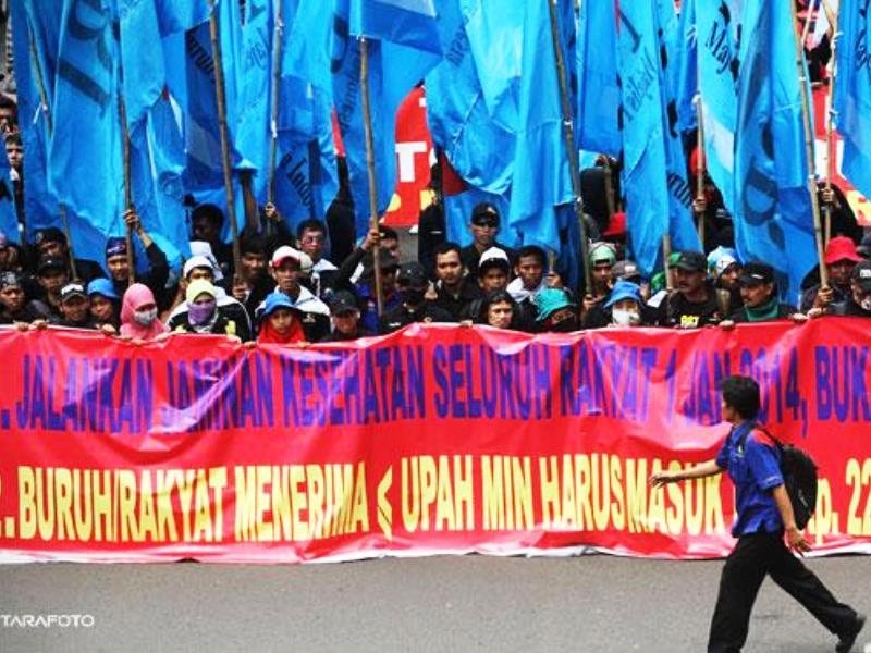 Hari Ini 1 September 2015 Buruh Demo Lagi Ini 10 Tuntutannya - AnekaNews.net