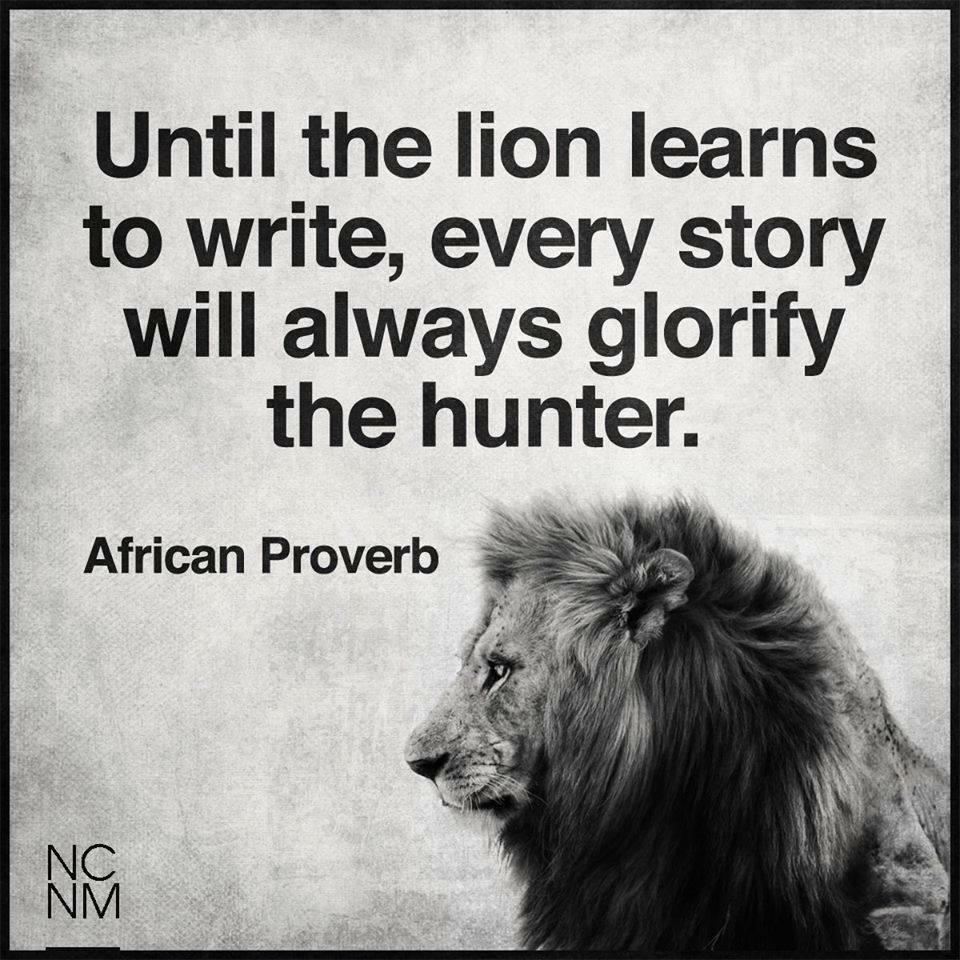 The glory of lion