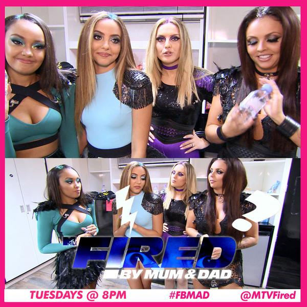 Tune in at 8pm to catch superstar girl band @LittleMix make a guest appearance in tonight's @MTVFired on @MTVUK! http://t.co/KoKYFucGeL